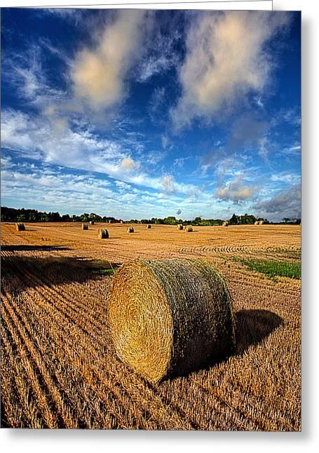 Midsummer Harvest Greeting Card