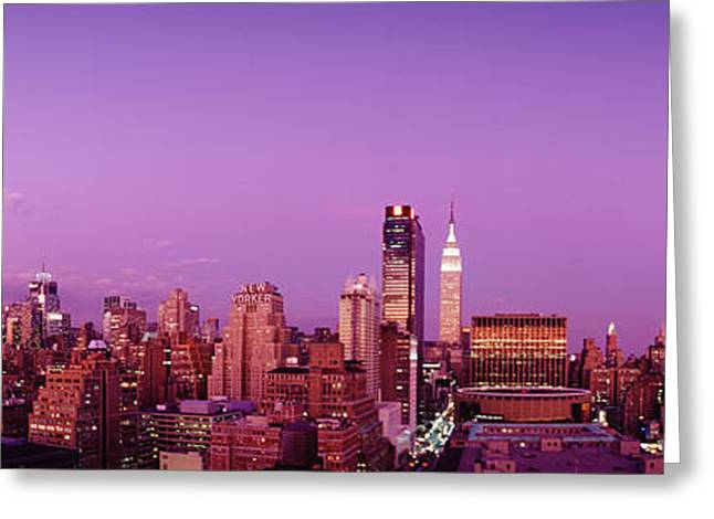 Midtown Nyc, New York City, New York Greeting Card