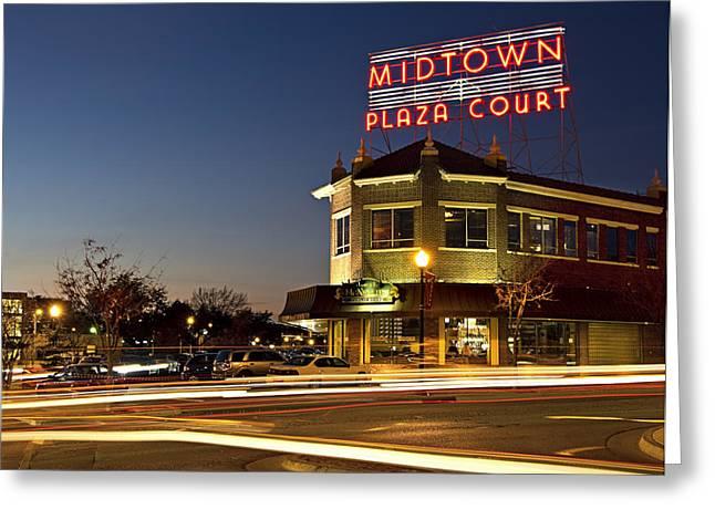Midtown Plaza Greeting Card