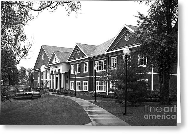 Midway College Anne Hart Raymond Center Greeting Card by University Icons