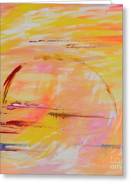 Midwest Sunrise Greeting Card by PainterArtist FIN
