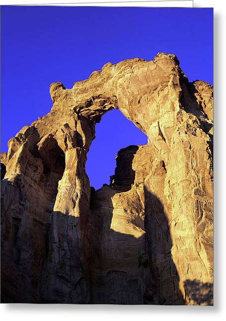 Mighty Grosvenor Arch In Grand Greeting Card