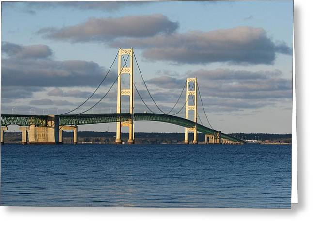 Mighty Mac In December Greeting Card
