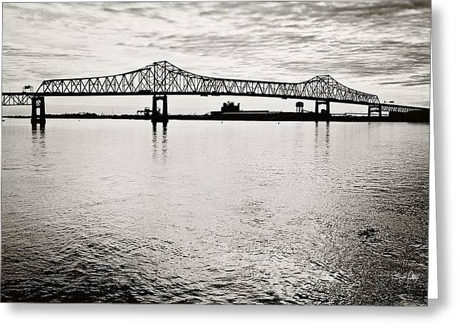 Mighty River Greeting Card by Scott Pellegrin