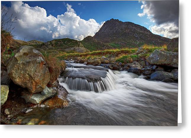 Mighty Tryfan  Greeting Card by Beverly Cash