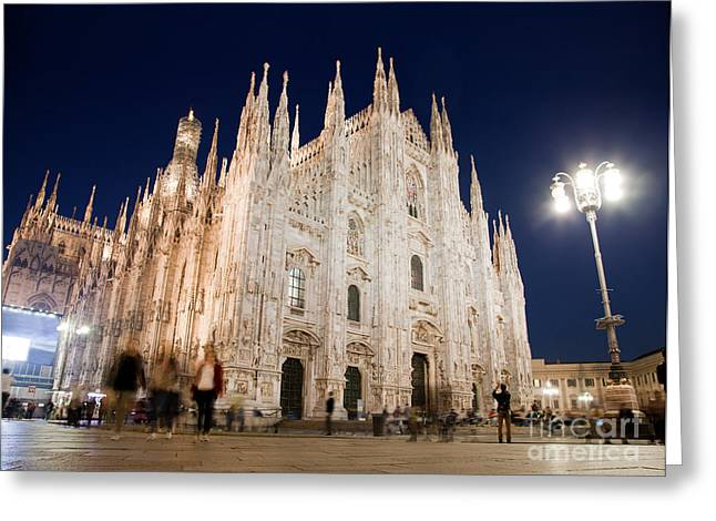 Milan Cathedral Duomo Italy Greeting Card by Michal Bednarek