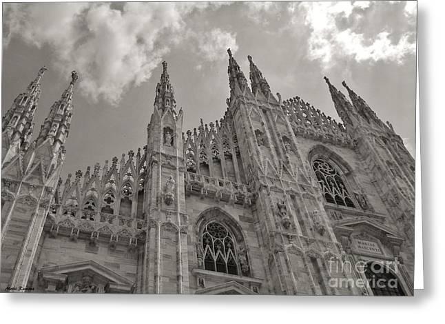 Milan Duomo Greeting Card