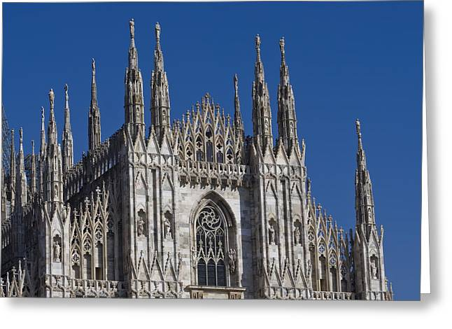 Milano Dome Detail Greeting Card by Ioan Panaite
