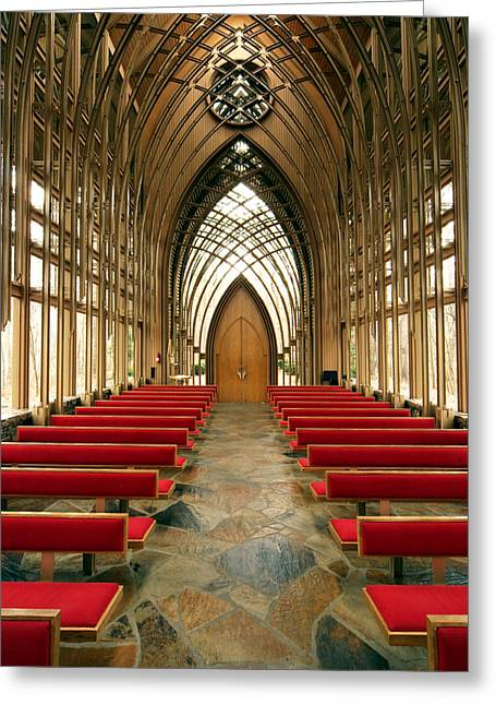 Mildred Cooper Chapel-1 Greeting Card by Maxwell Amaro