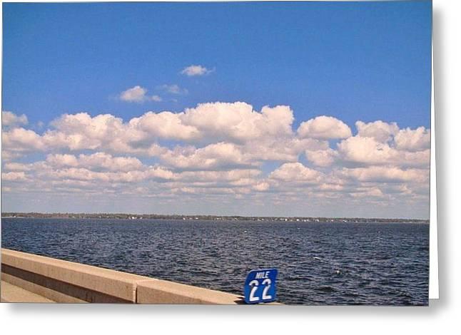 Mile 22 Greeting Card by Deborah Lacoste