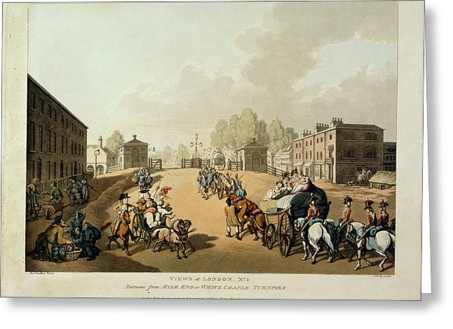 Mile End Greeting Card by British Library