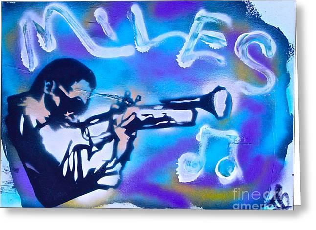 Miles Cloud 2 Greeting Card