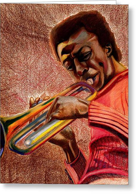 Miles In Color 3 Greeting Card by Dallas Roquemore