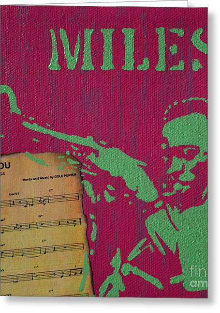 Miles Greeting Card