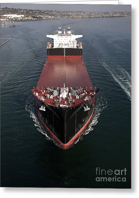 Military Sealift Command Mobile Landing Greeting Card