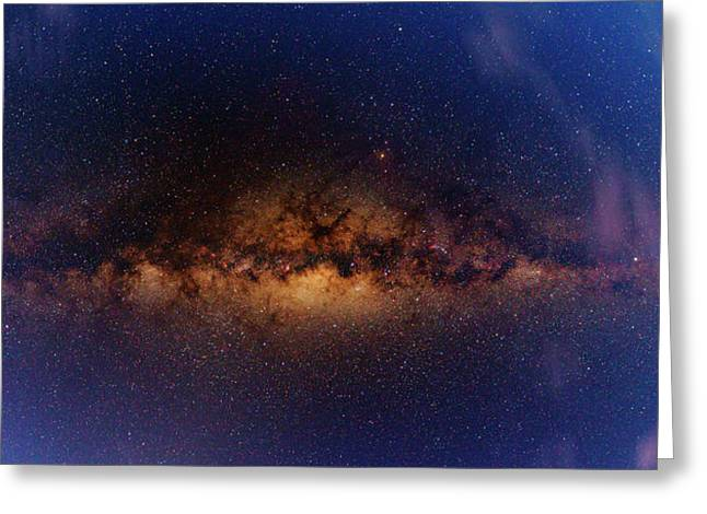 Milky Way At Dawn Greeting Card