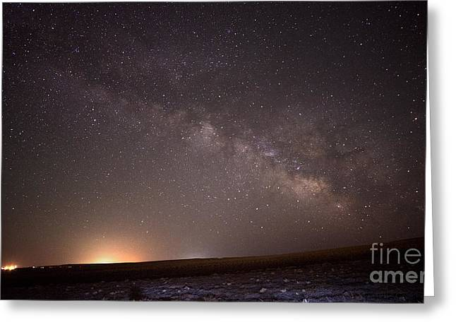 Milky Way Greeting Card by Dianne Phelps