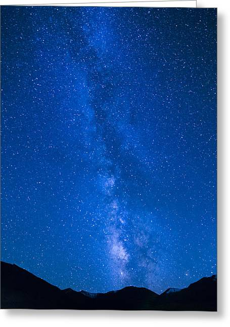 Milky Way Greeting Card by James Wheeler