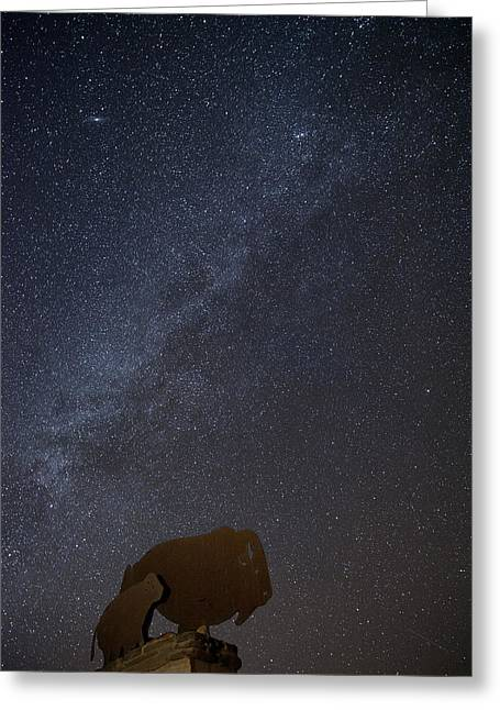 Milky Way  Greeting Card by Melany Sarafis