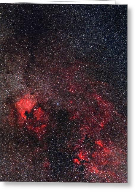 Milky Way Nebulae Greeting Card