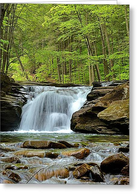 Mill Creek Falls #2 Greeting Card