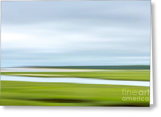 Mill Creek Marsh 1 Greeting Card by Susan Cole Kelly Impressions
