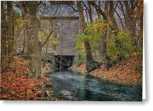 Mill Creek Greeting Card by Michael J Samuels