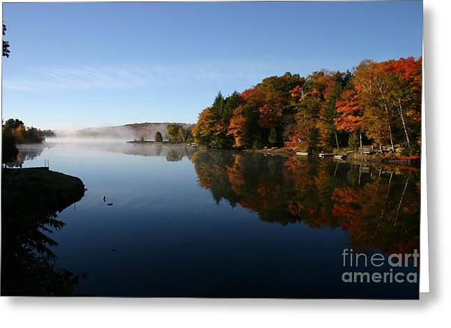 Mill Lake Thanksgiving Greeting Card