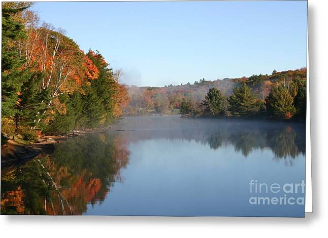 Mill Lake Thanksgiving Weekend II Greeting Card