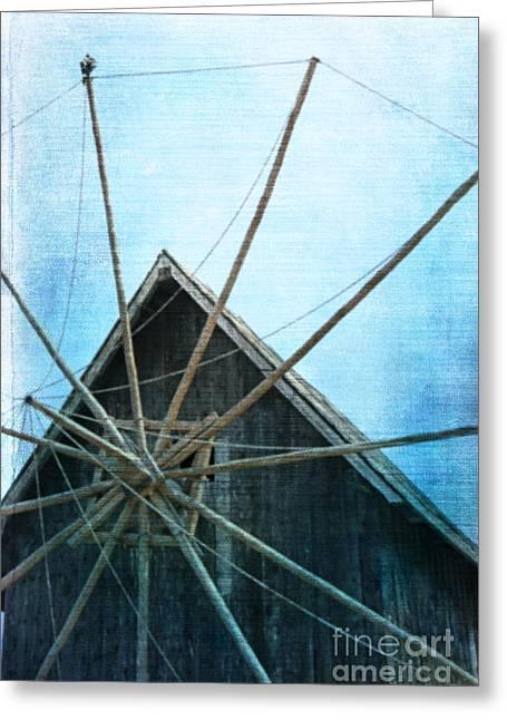 Mill  Greeting Card by Lali Kacharava
