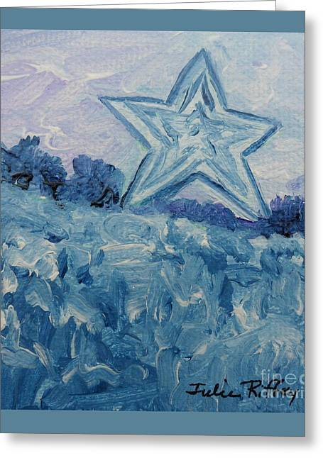Mill Mountain Star Greeting Card
