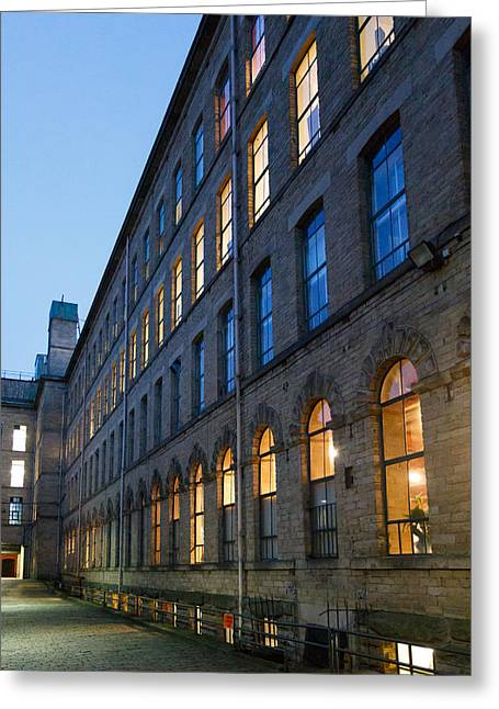 Greeting Card featuring the photograph Mill Perspective by Paul Indigo