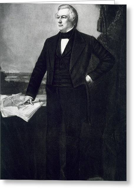Millard Fillmore Greeting Card by George Healy
