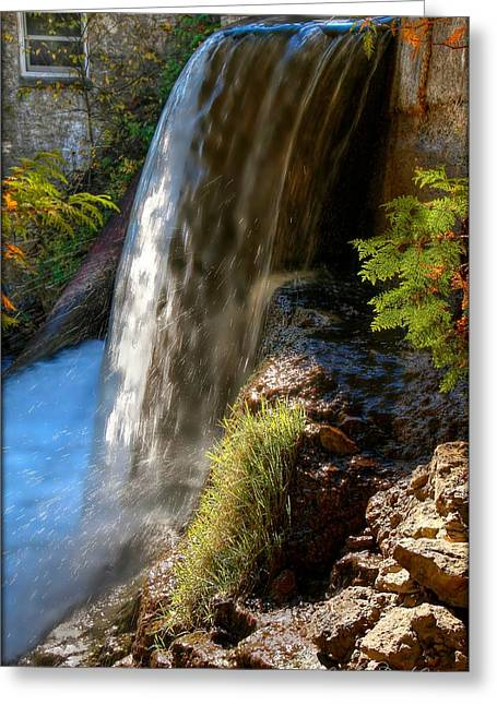 Millcroft Falls Greeting Card by Michaela Preston