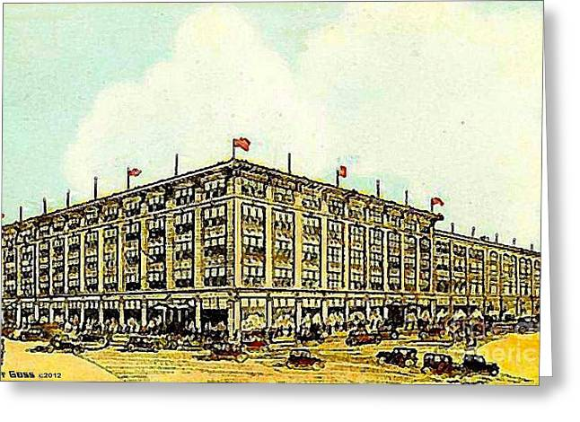 Miller And Rhoads Department Store In Richmond Va 1910 Greeting Card