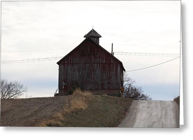 Miller  Barn Greeting Card