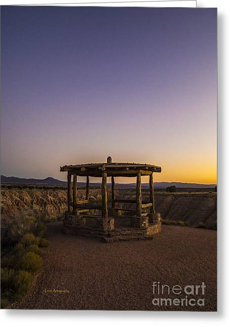 Miller Point Cathedral Gorge Greeting Card