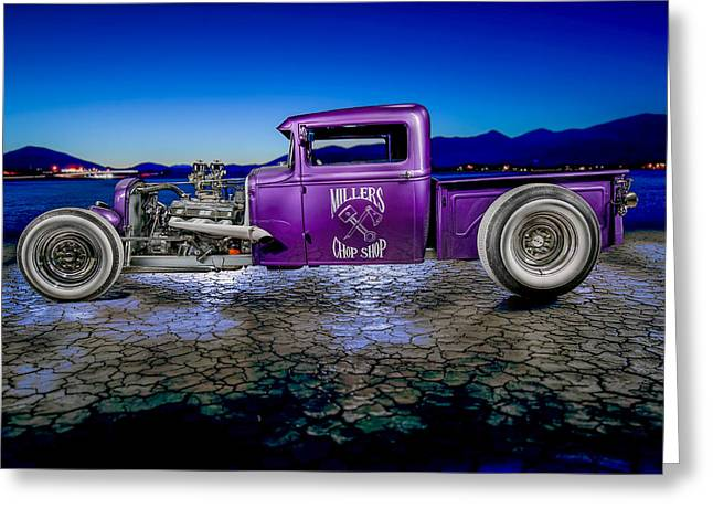 Millers Chop Shop 1931 Model A Pickup Greeting Card