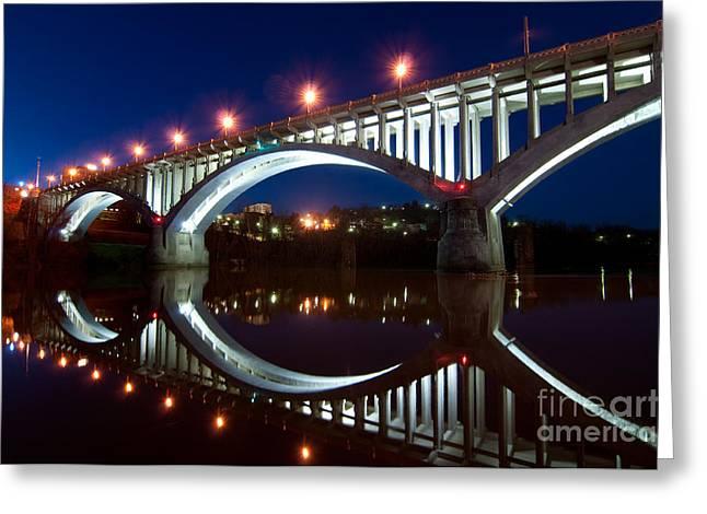Million Dollar Bridge D300_09669 Greeting Card by Kevin Funk