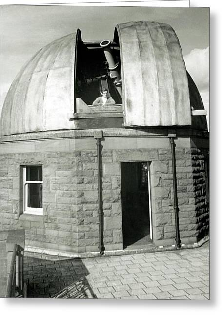 Mills Observatory Greeting Card by Royal Astronomical Society
