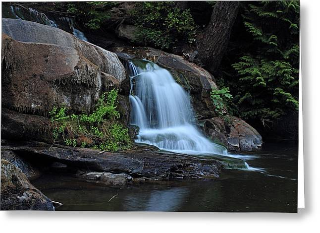 Millstone River Falls Greeting Card