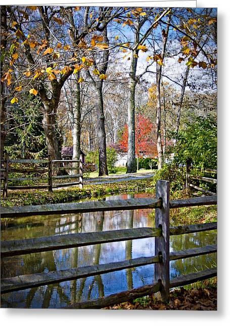 Millwood Greeting Card by Williams-Cairns Photography LLC