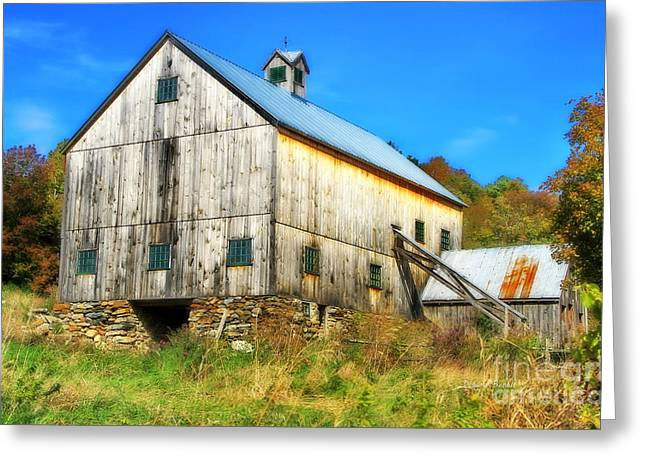 Milton Barn In Orton Greeting Card