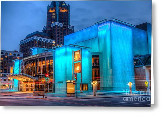Milwaukee Pac Evening Glow Greeting Card
