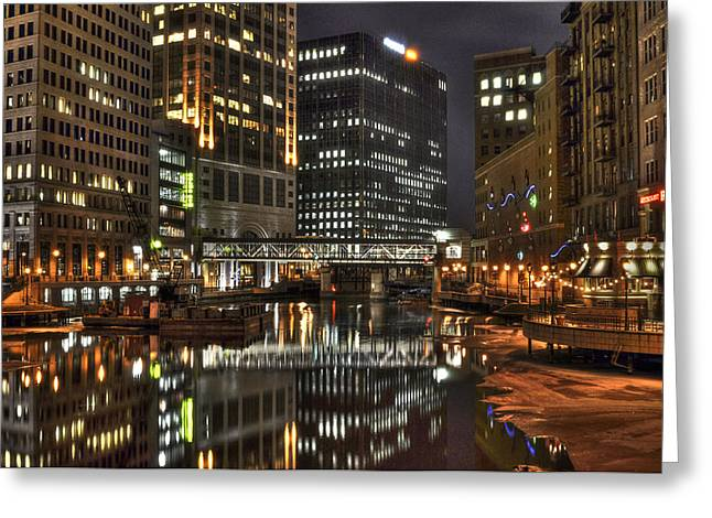 Milwaukee River Greeting Card