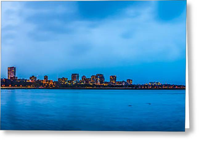 Milwaukee Skyline - Version 2 Greeting Card