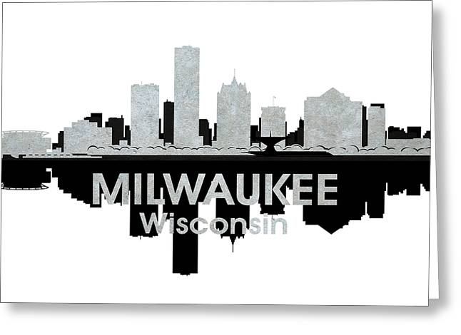 Milwaukee Wi 4 Greeting Card by Angelina Vick