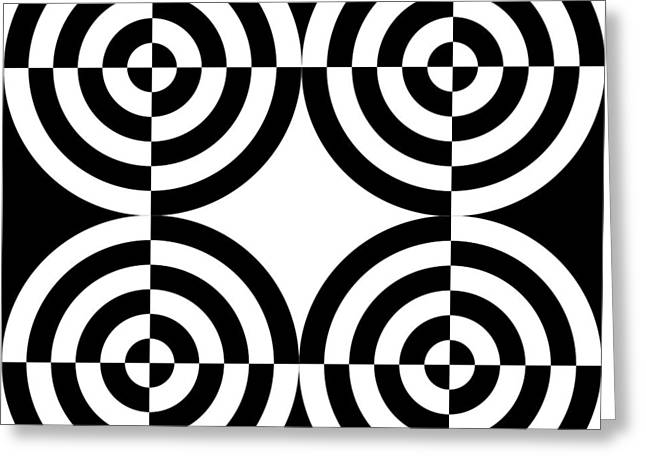 Mind Games 4 Greeting Card by Mike McGlothlen