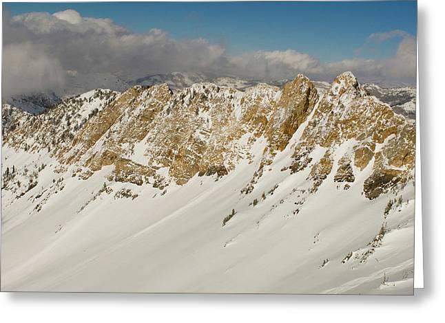 Mineral Fork, Big Cottonwood Canyon Greeting Card