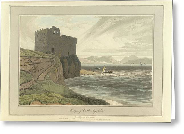 Mingarry Castle Greeting Card